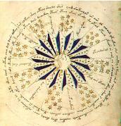 Voynich Manuscript Cosmology Page