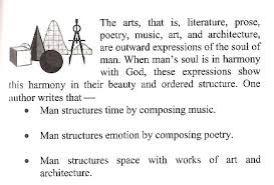 Arte, musica, poesia,..