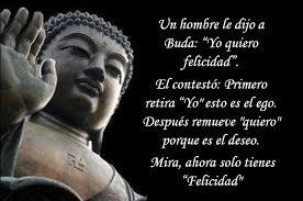 Buda y la felicidad