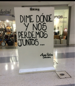 Dime donde...