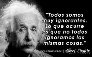 Einstein - Frase